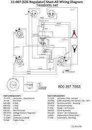 goodall 11 607w regulatorstart all parts parts list wiring diagram