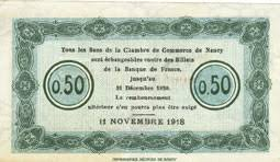 chambre commerce nancy banknotes emergency notes nancy 54 chambre de commerce