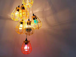 How To Make A Lamp Shade Chandelier 22 Diy Chandelier Ideas Stylecaster