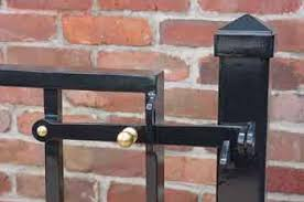 wrought iron gate hardware cassidy bros forge