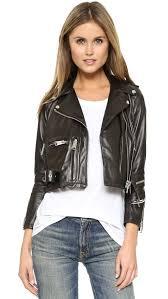 leather moto jacket r13 shrunken leather moto jacket shopbop