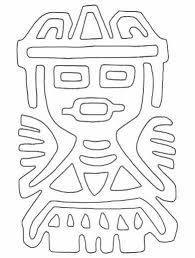 free printable aztec symbol collection