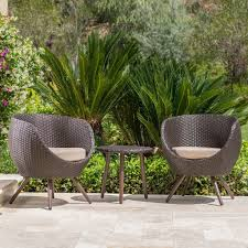 3 Piece Patio Furniture Set - enjoy your summer with outdoor wicker furniture 50 idea photos