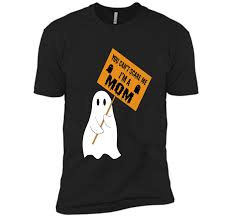 tshirt halloween you can u0027t scare me i u0027m a mom funny halloween ghost tshirt t