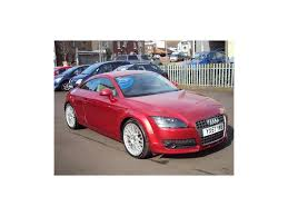 used audi tt coupe 2 0 tfsi 3dr in wakefield west yorkshire sun