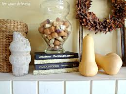 ideas for the fall mantel