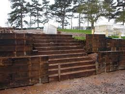 steve mcballantine u0027s lowdham house retaining wall and steps with