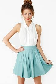 sleeveless collared blouse skirt blouse clothes shirt white collar white button up top