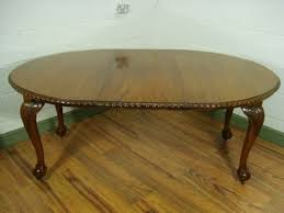 claw foot table with glass balls in the claw antique flame mahogany ball and claw dining table at chippendale