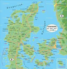 Map Of Denmark Odense Map