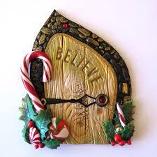 Fairy Door by Believe Elf Door Pixie Portal Miniature Fairy Door For The