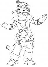 puss boots coloring pages coloring pages download