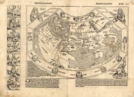 Map Of Columbus Voyage The Garden Of Forking Paths