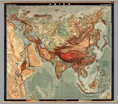 Eurasia Map Eurasia Physical David Rumsey Historical Map Collection