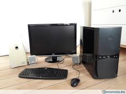ordinateur complet de bureau pc ecran 24 ordinateur complet bureau silencieux a vendre