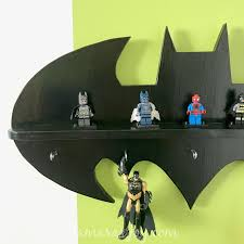 diy batman shelf tamara u0027s joy