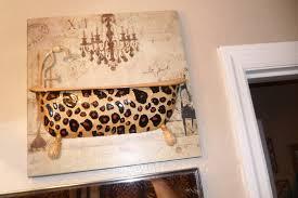 glamorous leopard bathroom decor design ideas decors of animal
