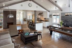 Kitchen Living Room Designs Private Dining Room San Francisco 10070