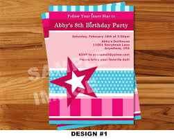 amazing american birthday party invitations theruntime com