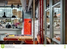restaurant cuisine ouverte restaurant avec la cuisine ouverte photo stock image 72329692