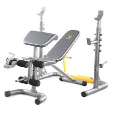 Weightlifting Bench Golds Gym Xrs20 Weight Bench With Adjustable Uprights Jet Com
