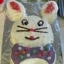 Decorate Easter Bunny Cake by Easy Bunny Cake Recipe Allrecipes Com