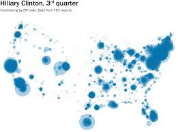 Wa Zip Code Map by Bernie Sanders U0027s Vast Universe Of Donors Mapped The Washington Post