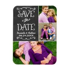 save the date wedding magnets chalkboard refrigerator magnets zazzle