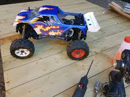 monster truck nitro 4 cen gsr 5 0 nitro monster truck in kings lynn norfolk gumtree