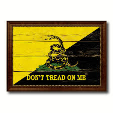 Military Home Decorations by Gadsden Don U0027t Tread On Me Military Vintage Flag Patriotic Office