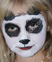 panda makeup please click on a picture to view a larger version