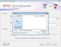 Word To Pdf Axpdf Microsoft Word To Pdf Converter