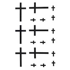 temporary tattoo christian christian cross artwear tattoo