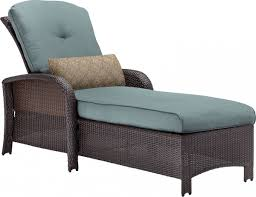 Outdoor Chaise Lounge Furniture Hanover Strathmere Wicker Outdoor Chaise Lounge Chair
