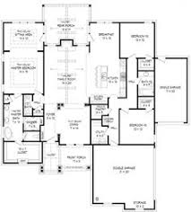 2300 Sq Ft House Plans Slightly Bigger Same Basic Plan Great Use Of Space 3 Bedrooms