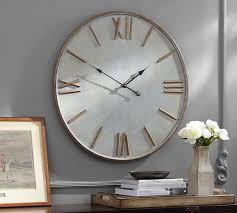 Pottery Barn Paddles Gayle Wall Clock Pottery Barn My First Place Pinterest