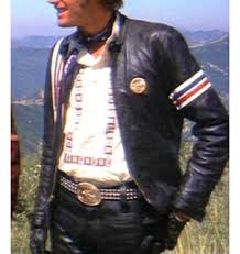 black leather motorcycle jacket rider captain america biker black leather jacket