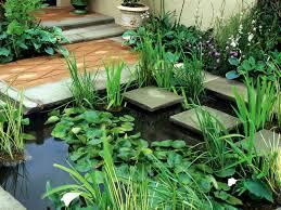 garden design small minimalist with pergola and outdoor furniture
