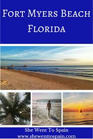 fort myers beach florida she went to spain