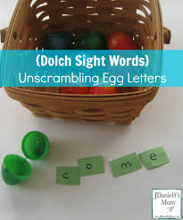 dolch sight words unscrambling sight words