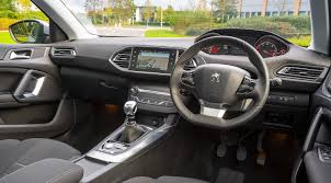 peugeot expert interior first drive review peugeot 308 1 6 hdi allure 2013