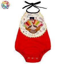 aliexpress buy toddler baby thanksgiving turkey design romper