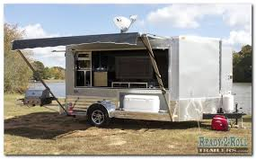 Cargo Trailer Awning Photo Gallery Of Prior Trailer Builds U0026 Custom Trailers