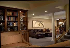 Basement Ceiling Paint Ideas Mesmerizing Basement Family Room Decorating Ideas Rustic