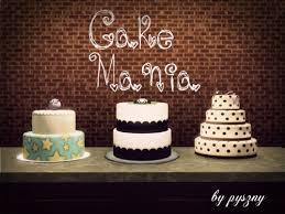 wedding cake sims 4 spring4sims edible foods