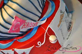 Ponce Flag Topsy Turvy Baseball Yoga Cake Emi Ponce De Souza Turning