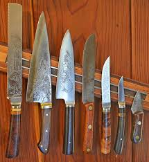 kitchen knife collection share your collection francine etched knives