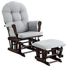 Stork Craft Rocking Chair Stork Craft Hoop Glider And Ottoman Set Grey Grey Glider And