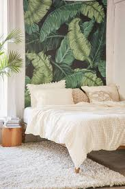 banana themed lamps banana leaf tapestry banana leaves tapestry and greenery
