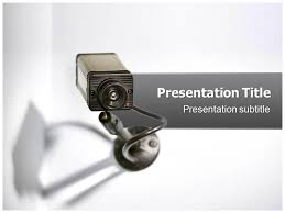 cctv powerpoint template cctv camera ppt templates cctv camera